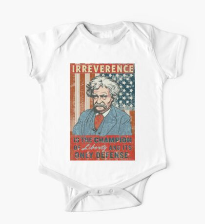 Mark Twain Irreverence & Liberty Kids Clothes