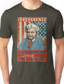 Mark Twain Irreverence & Liberty T-Shirt