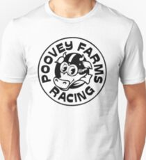 Poovey Farms Racing Unisex T-Shirt
