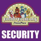 Five Nights at Freddy's - FNAF 2 -  Freddy Fazbear's Security Logo by Kaiserin