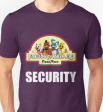 Five Nights at Freddy's - FNAF 2 -  Freddy Fazbear's Security Logo Unisex T-Shirt