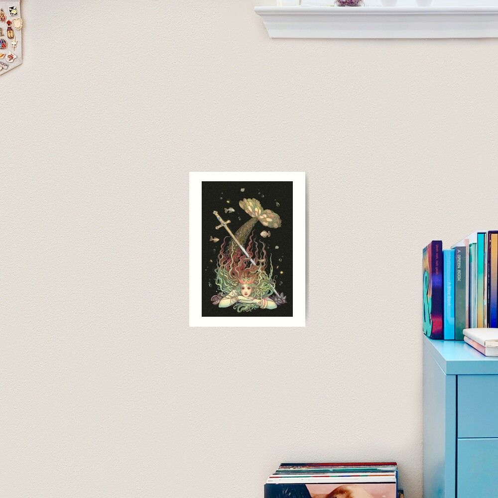 Protetora da Espada Art Print