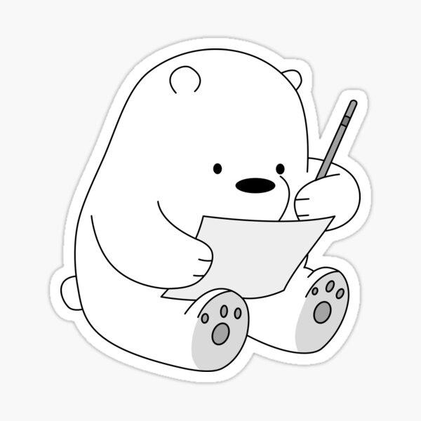 iced bear Sticker