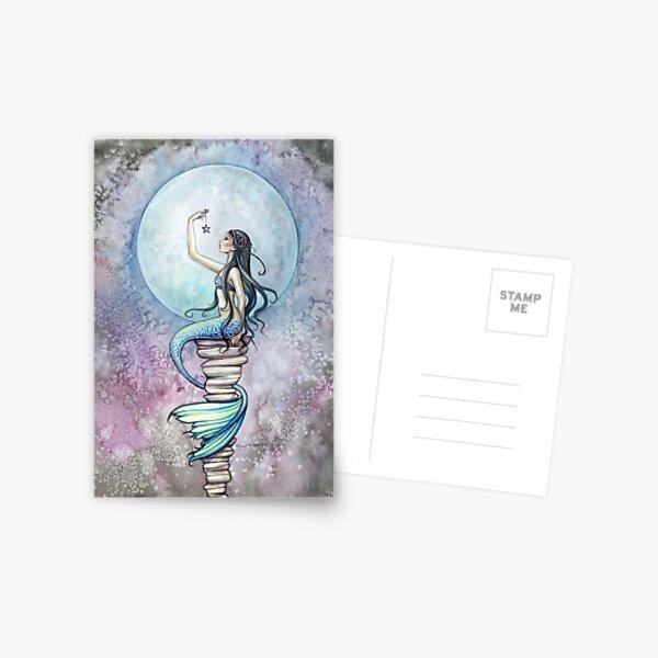 """Magic"" Mermaid Art by Molly Harrison Postcard"