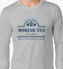 MoriarTea Blue Long Sleeve T-Shirt