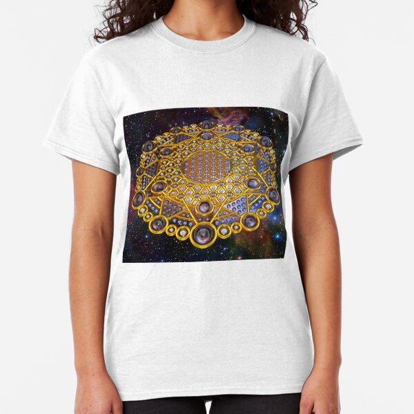 Flower of life Grid Healing Code Classic T-Shirt