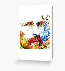 VINCENT... Greeting Card