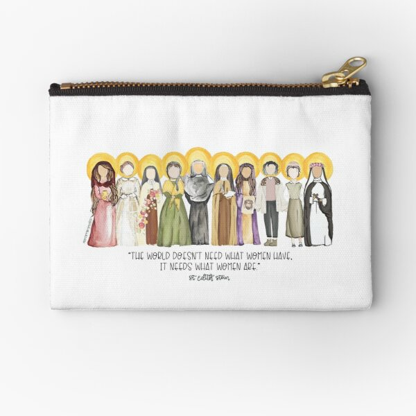 Women Saints Zipper Pouch