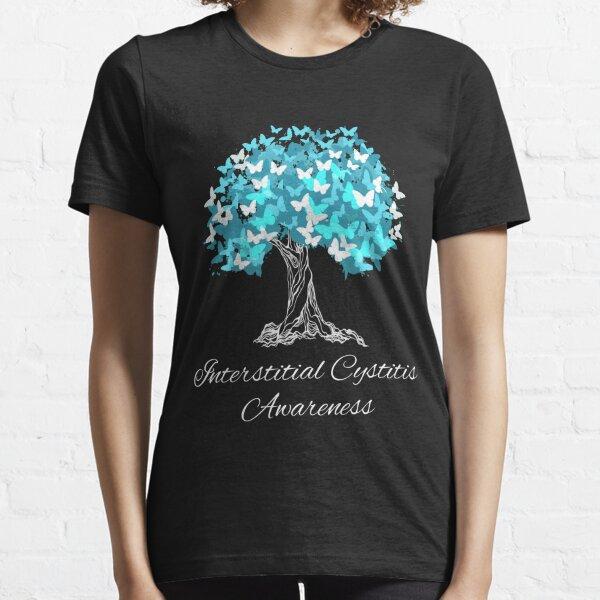 Interstitial Cystitis Awareness Butterfly Support Essential T-Shirt