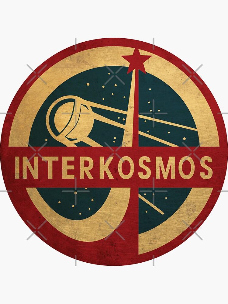 Vintage Interkosmos space program Sputnik Satellite by Beltschazar
