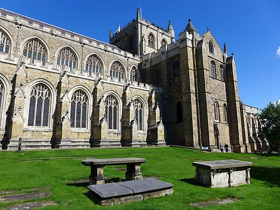 Ripon Cathedral by Anna Myerscough