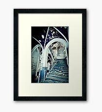Vaults of Blue ~ Chateau Noisy Framed Print