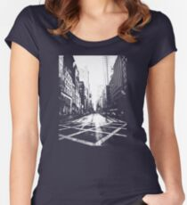 5th Avenue Women's Fitted Scoop T-Shirt