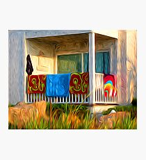 Hung Out to Dry Photographic Print