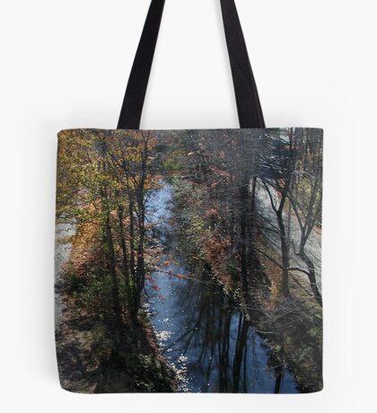 Blackstone Canal in Autumn Tote Bag