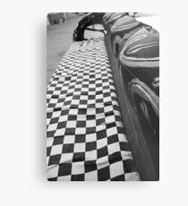 Checkered Flag Metal Print