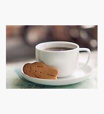 coffee break.. Photographic Print