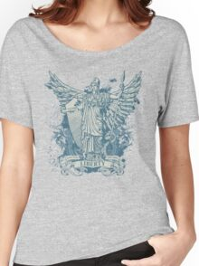 Libertas Freedom Goddess Women's Relaxed Fit T-Shirt
