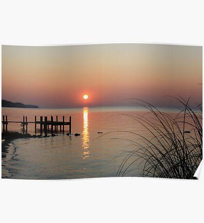 Sunrise Oriental, NC Poster
