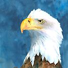 Proud Eagle by arline wagner