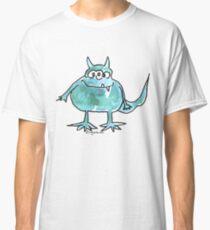 Funny Cartoon Monstar Monster 045 Classic T-Shirt