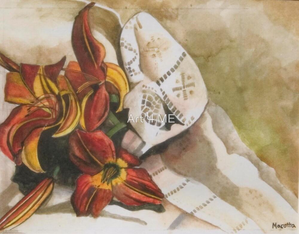 J.L. Marotta's 'Day Lillies' by Art 4 ME