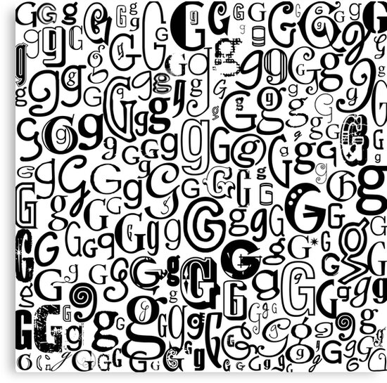 The Letter G by Julie Hartman