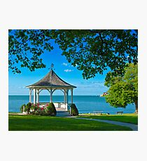 Niagara River Gazebo Photographic Print