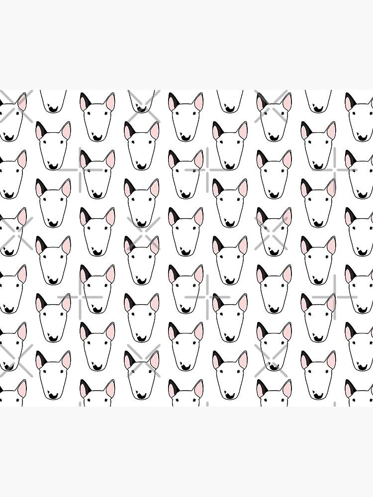 Persephone the Bull Terrier by emilydevineart