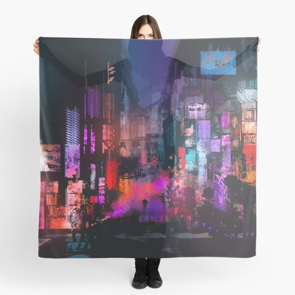 Unleashed at Night Scarf