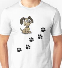 Paw prints  Unisex T-Shirt