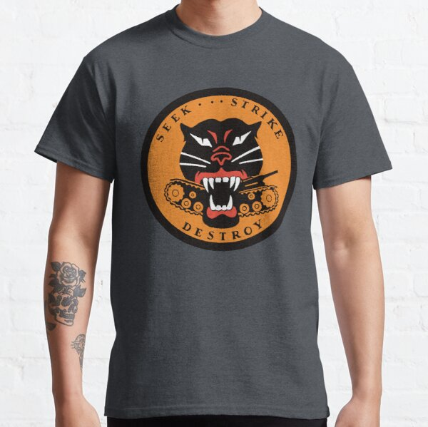 Tank Destroyer Panther Hellcat Patch  Classic T-Shirt