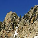 Wasatch Mountains, Cliffs near Red Pine Lake by Ryan Houston