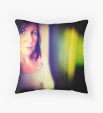 coloured thoughts Throw Pillow