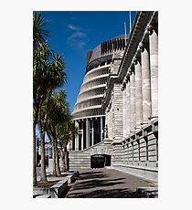 NZ Parliament Photographic Print