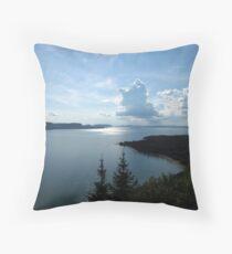 Bay of Nipigon, Nipigon, Ontario Canada Throw Pillow
