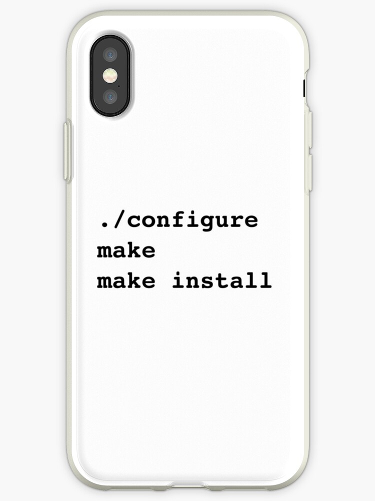 ./configure make make install for sysadmins and Linux users by ramiro