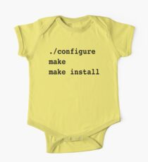 ./configure make make install for sysadmins and Linux users Kids Clothes
