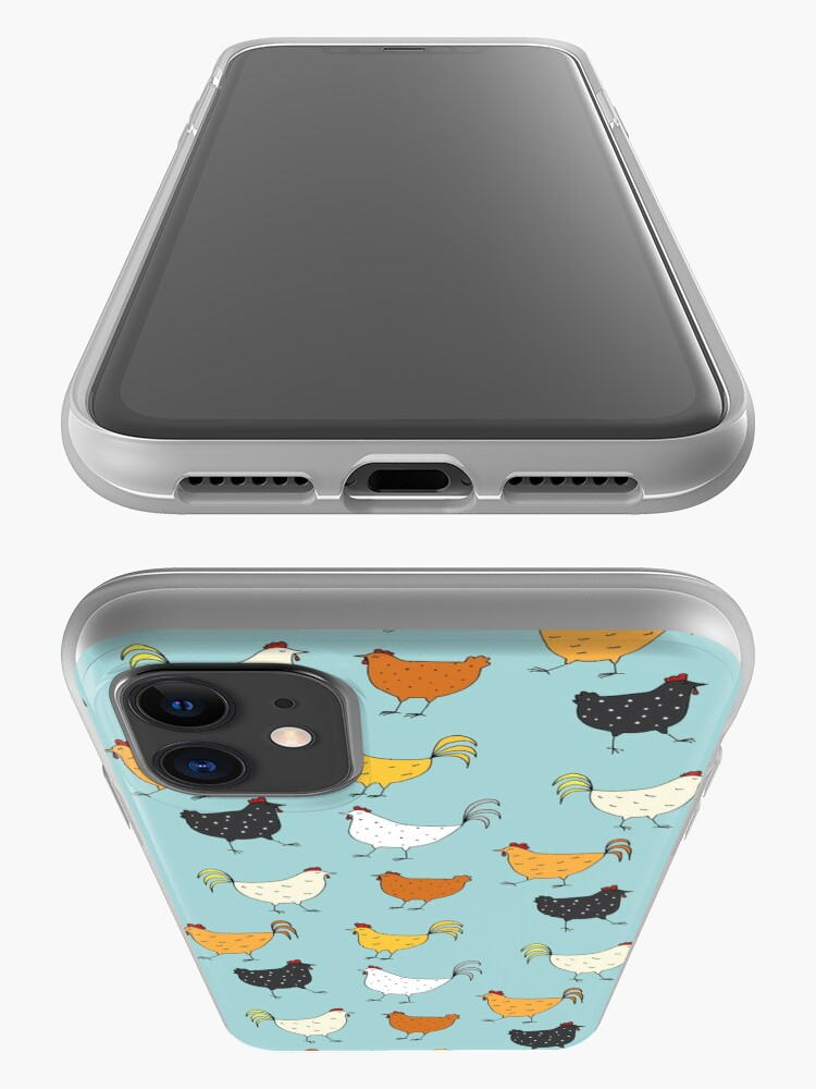 Alternate view of Chicken Pattern iPhone Case & Cover