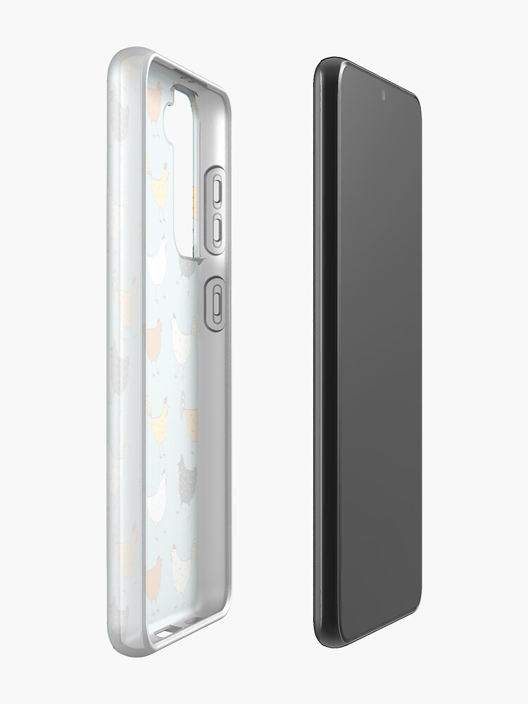 Alternate view of Chicken Pattern Samsung Galaxy Phone Case