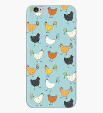 Chicken Pattern iPhone Case