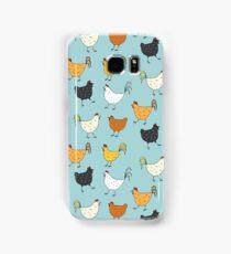 Chicken Pattern Samsung Galaxy Case/Skin