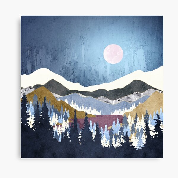 Blueberry Sky Canvas Print