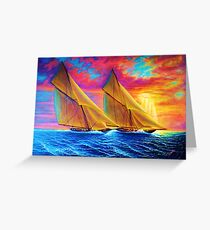 Magnificient Sea Greeting Card