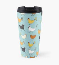 Chicken Pattern Travel Mug