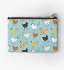Chicken Pattern Studio Pouch