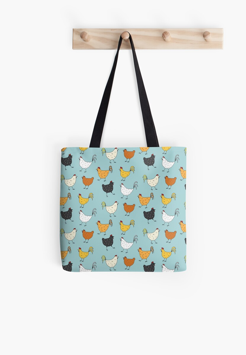 Chicken Pattern by Holly Astle