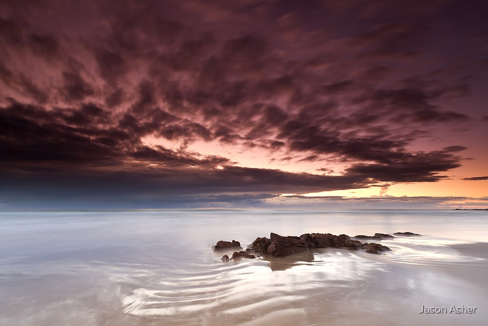 """Ripples in Time"" ∞ Coolum, QLD - Australia by Jason Asher"