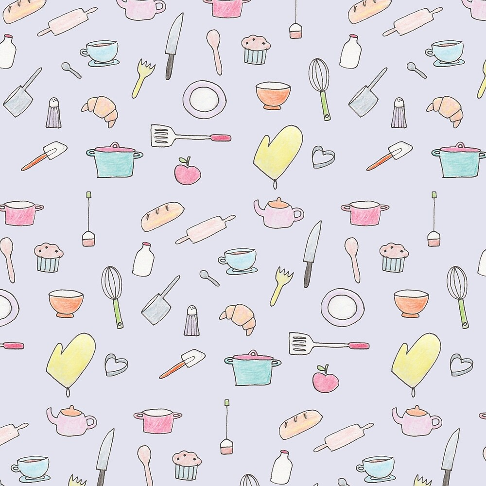 Kitchen Pattern by Holly Astle