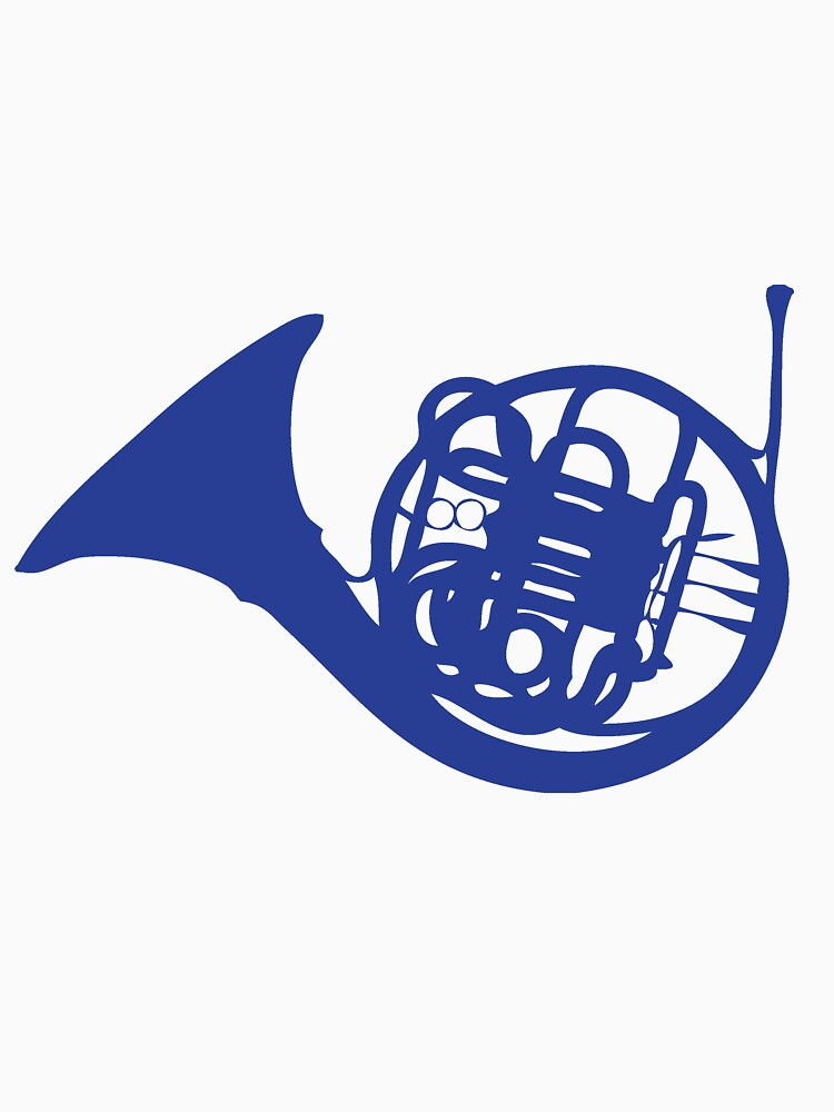 Blue French Horn by cotchin
